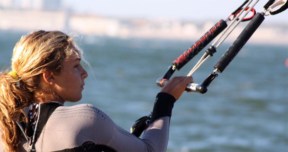 Campeã Mundial KiteSurf